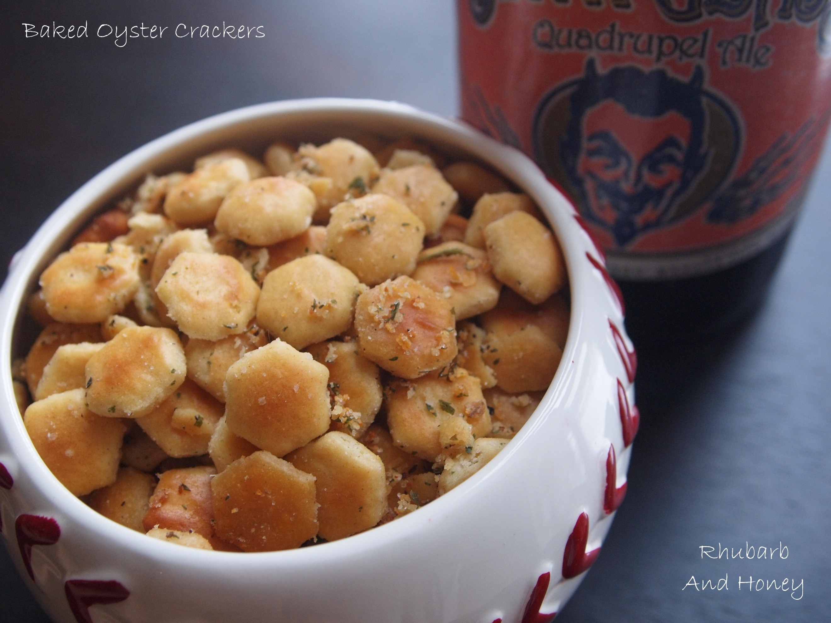 Throwback Snack: Baked Oyster Crackers