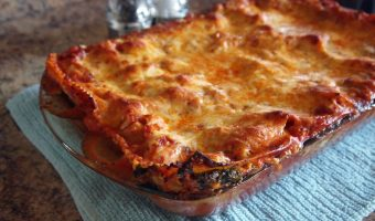 New Comfort Food Classic: Turkey Spinach Lasagna
