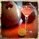 Rosy Rhubarb Syrup and a Farm Girl Cosmo
