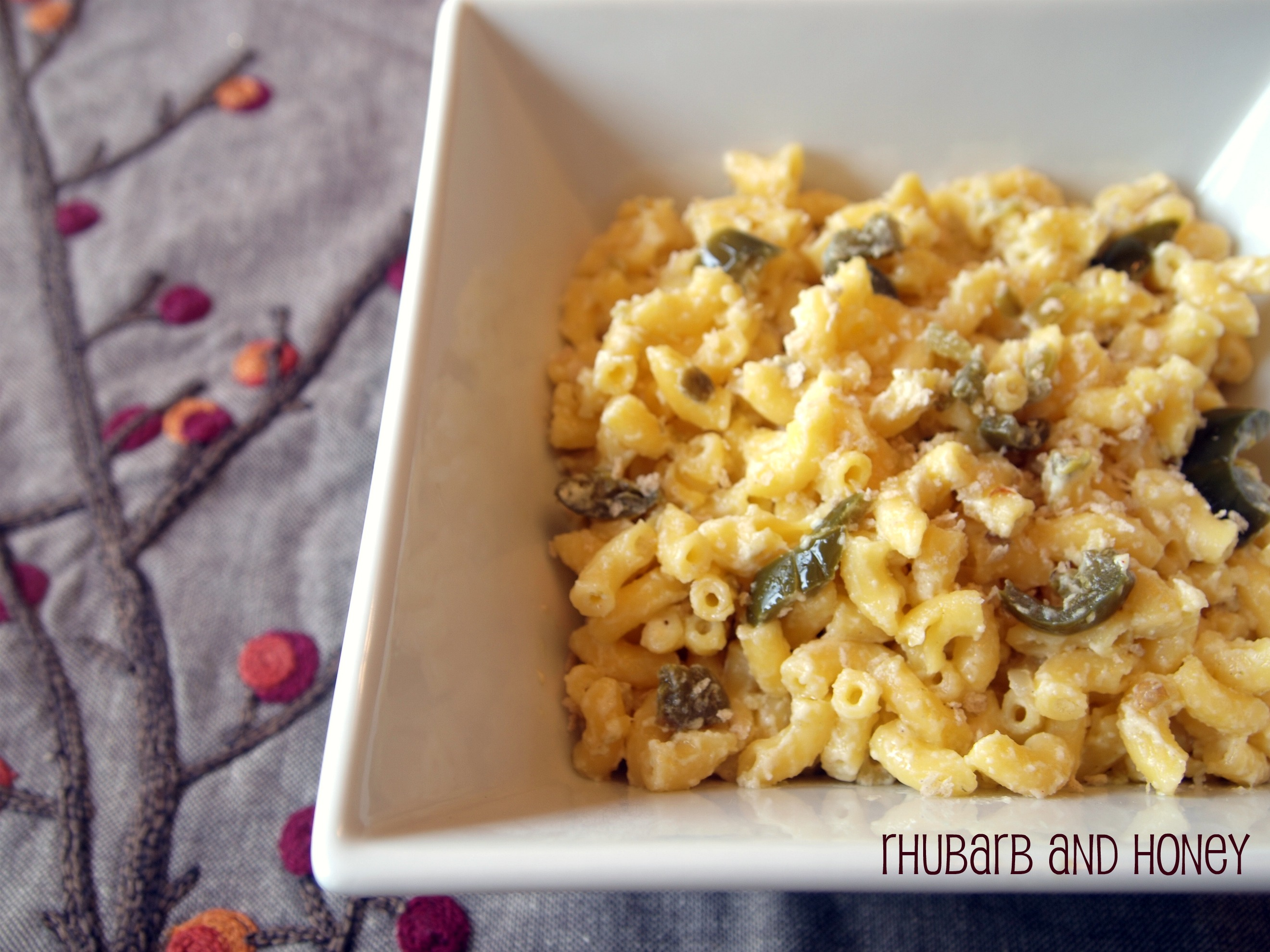 Gluten-Free Jalapeno Macaroni and Cheese