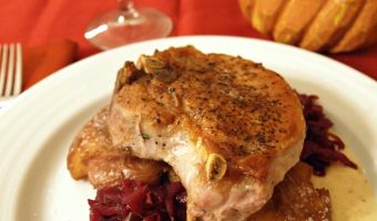 Crash Hots and Braised Red Cabbage