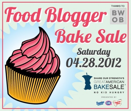 2012 Food Blogger Bake Sale