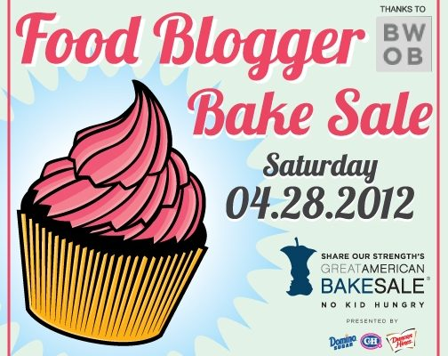 Share Our Strength's Third Annual Food Blogger Bake Sale