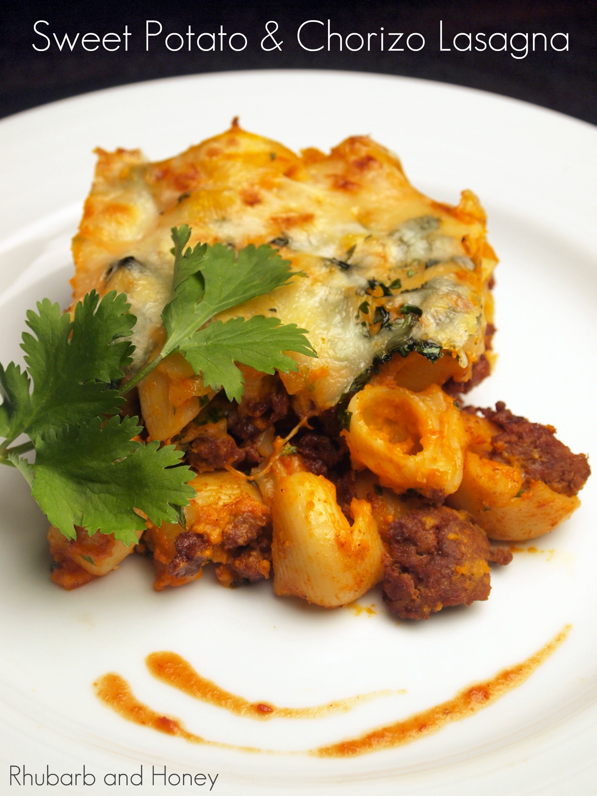 Sweet Potato and Chorizo Lasagna