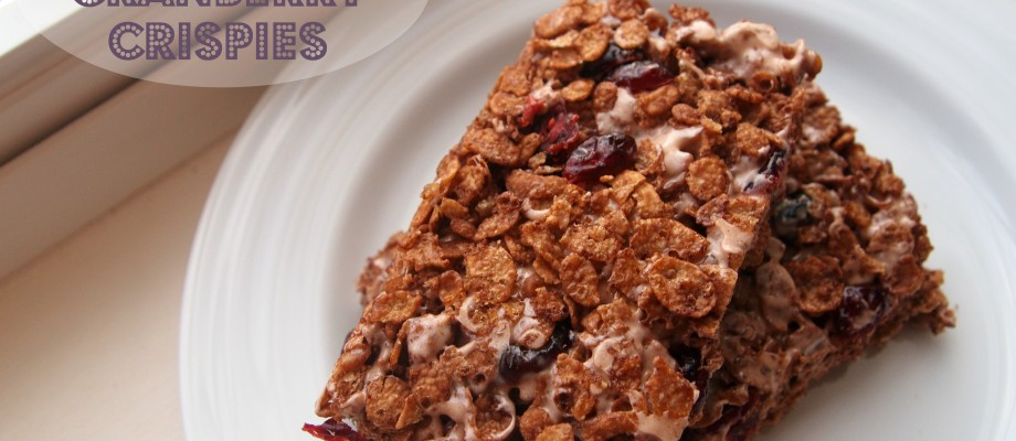 Chocolate Cranberry Crispies