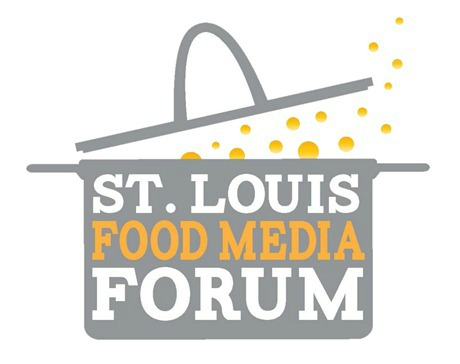 St. Louis Food Media Forum; logo design by IronStef