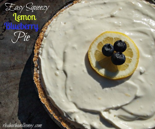 Easy Squeezy Lemon Blueberry Pie