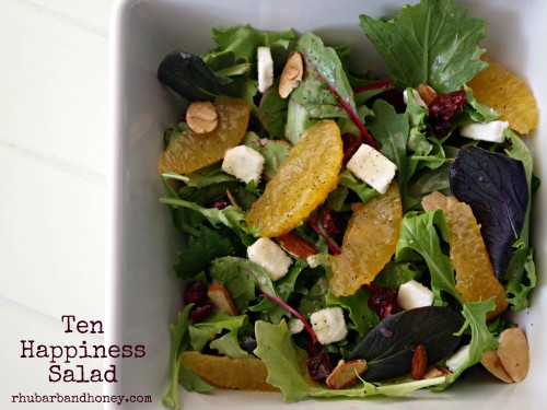 Ten Happiness Salad