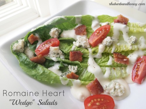"Romaine Heart ""Wedge"" Salads"