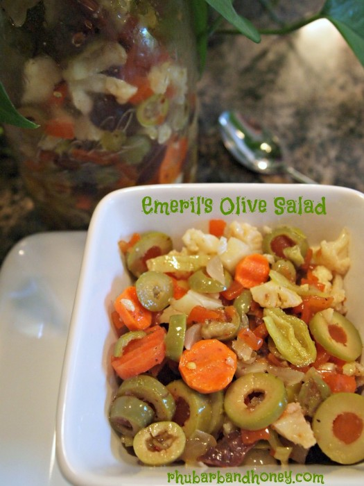 Emeril's Olive Salad