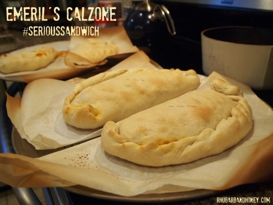 Finished Calzones
