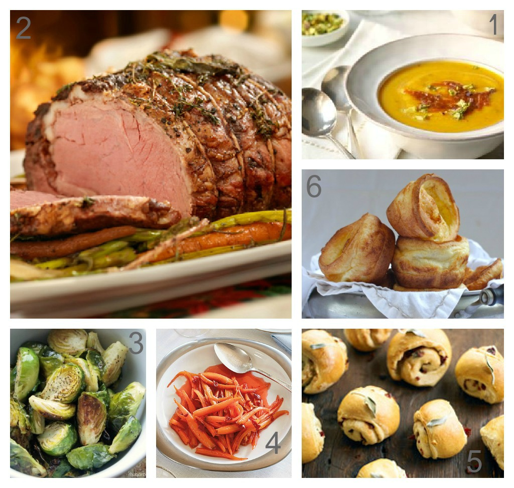Dreaming of Christmas Dinner: A Recipe Round-Up