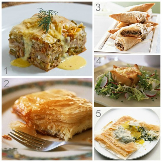 Savory Phyllo Recipes