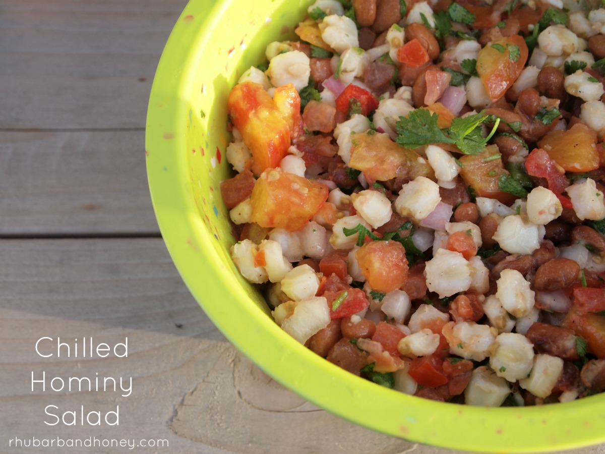 Chilled Hominy Salad