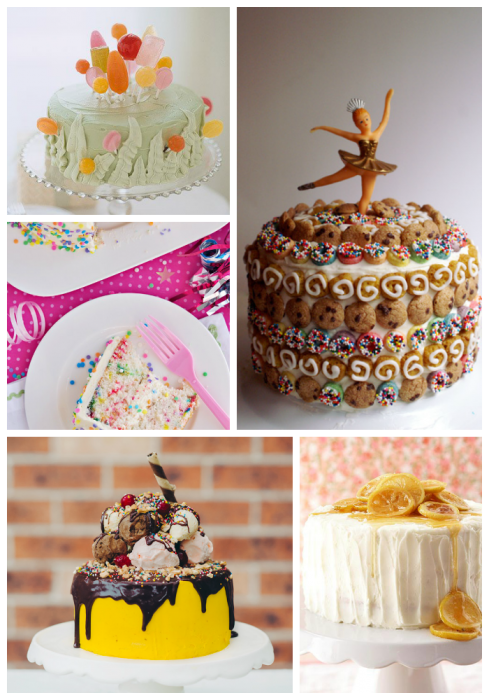 Birthday Cake Collage Imagechef : A Birthday Cake Round-Up
