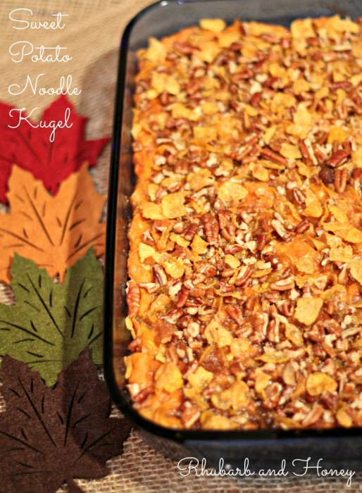 Sweet Potato Noodle Kugel