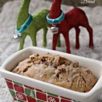 Glazed Eggnog Quick Bread Packaged Gift