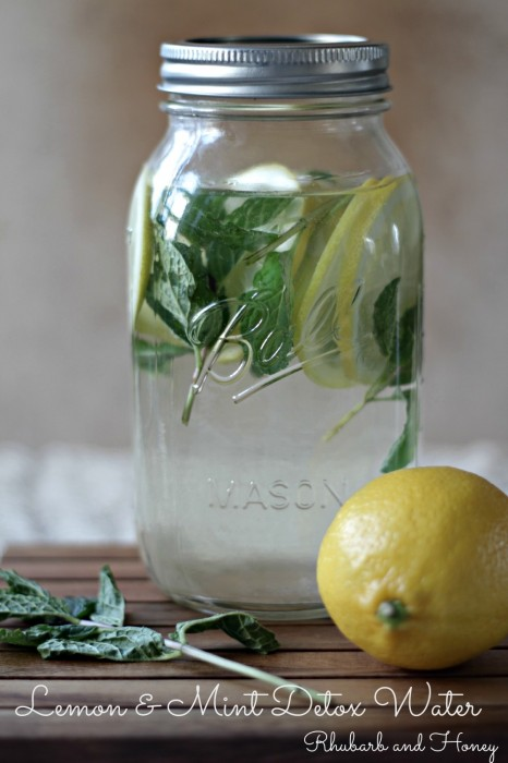 Lemon Mint Detox Water