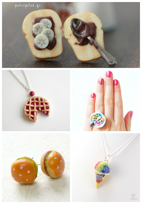 Food Baubles Collage #1