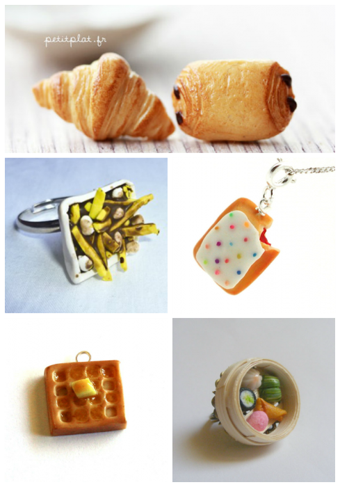 Food Baubles Collage #2