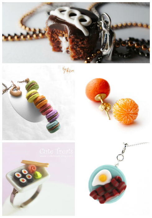 Food Baubles Collage #3