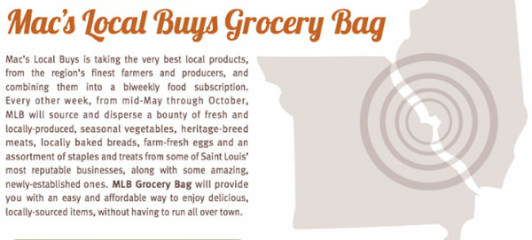 Mac's Local Buys Grocery Bag