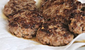 Spicy Homemade Breakfast Sausage