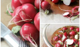 Small Batch Pickled Radishes