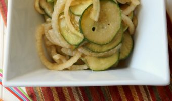 Marinated Cucumber and Onion Salad