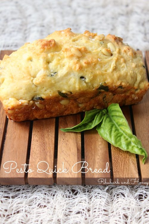 Pesto Quick Bread