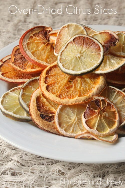 Oven-Dried Citrus Slices