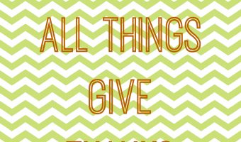 Give Thanks Printables