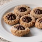 Four Ingredient Peanut Butter Blossom Cookies