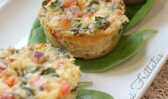 Loaded Mini Frittatas #RecipeReDux