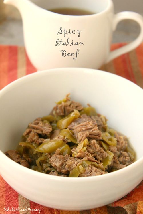 Slow Cooker Spicy Italian Beef