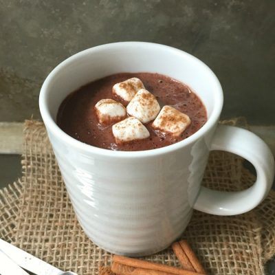 Mexican Hot Chocolate for One #Choctoberfest
