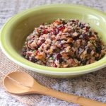 Nutty Wild Rice Salad: A Guest Post for Eating Rules
