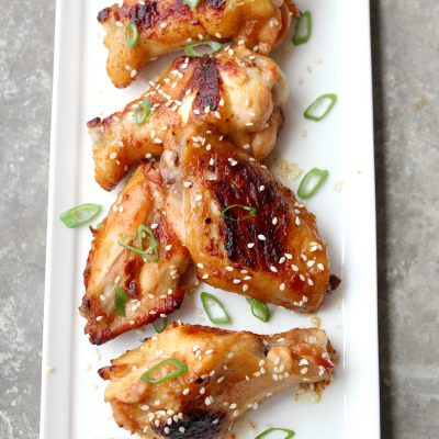 Spicy Asian Sesame Wings #FreshTastyValentines
