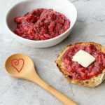 Strawberry Lemonade Chia Seed Jam #FreshTastyValentines