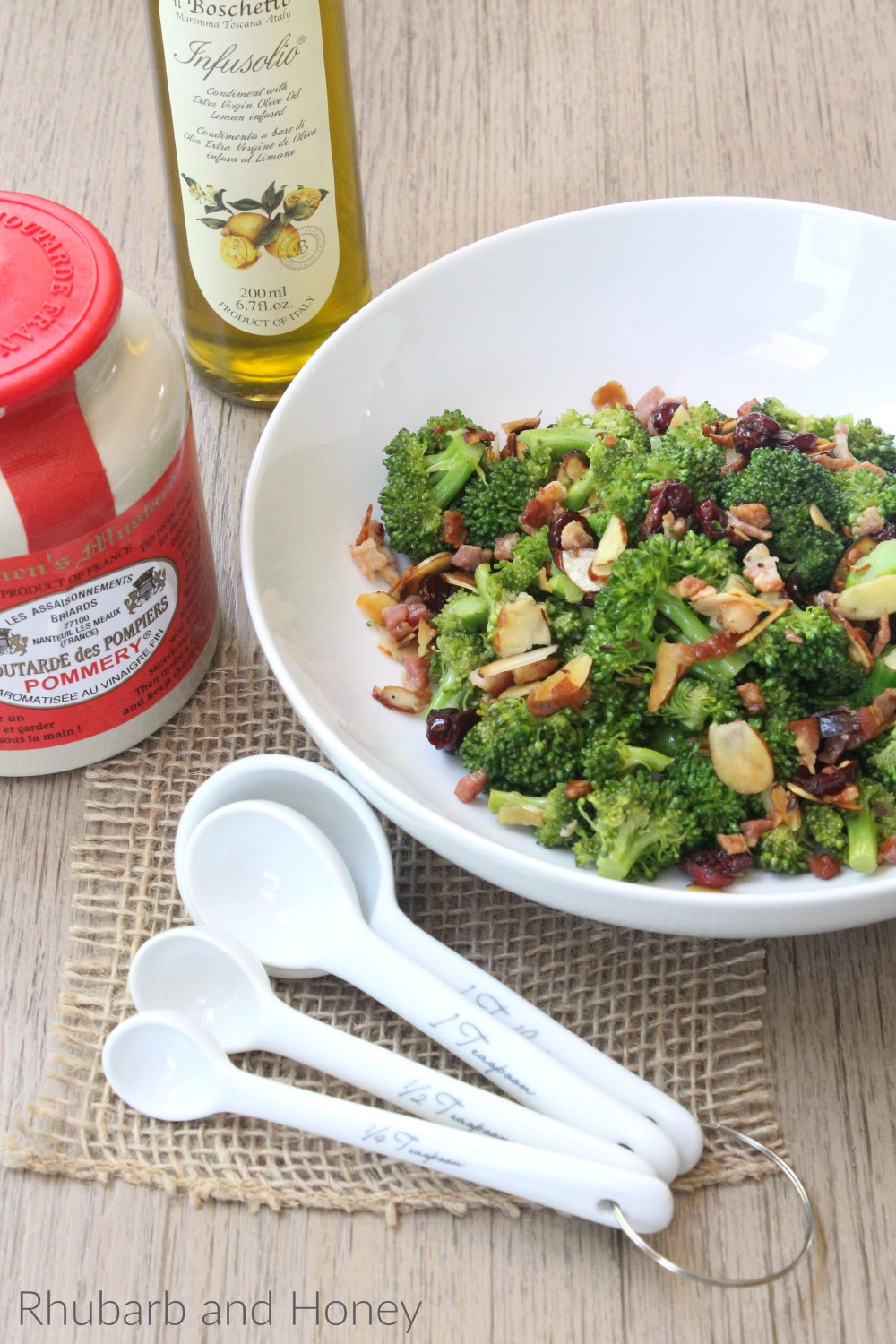 Spicy Lemon Broccoli Salad #CookoutWeek