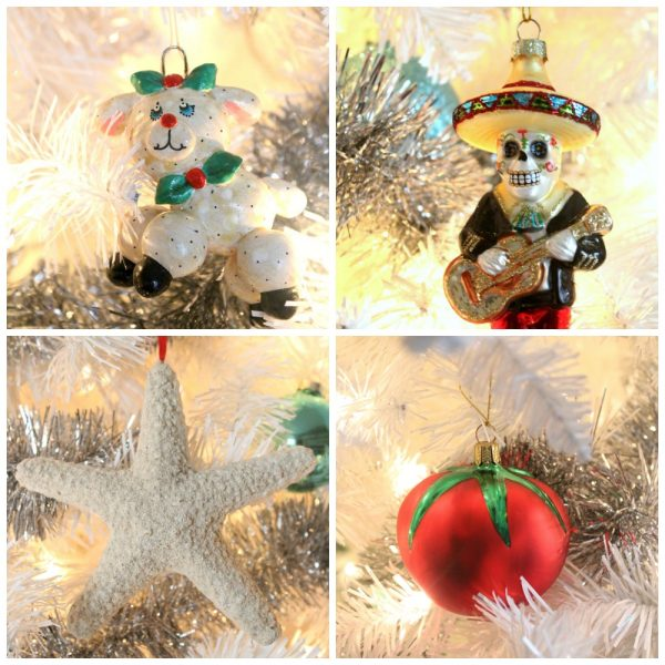 show me your christmas tree ornaments rhubarb and honey - Show Me Christmas Decorations
